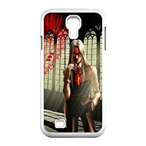 Hellsing Logo Samsung Galaxy S4 9500 Cell Phone Case White phone component RT_296579