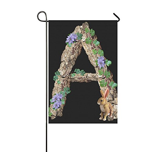 YIJIEVE Home Decorative Outdoor Double Sided Alphabet Letter