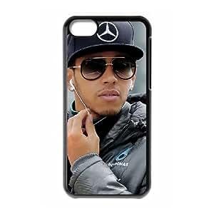 5c caso de Lewis Hamilton funda iPhone Y8K90H2LI funda AF6W52 negro