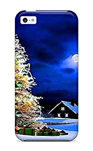 Fernando Gan Beane's Shop New Style 8746116K10583101 Forever Collectibles Nice Christmas Tree Hard Snap-on Iphone 5c Case