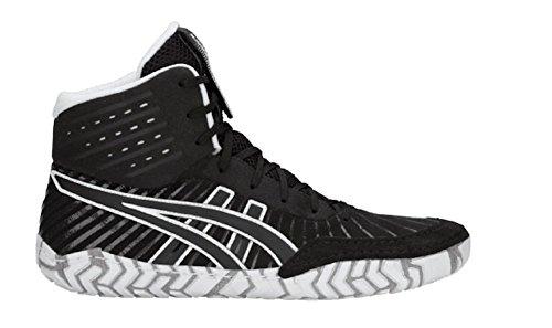 Image of ASICS Aggressor 4 Men's Wrestling Shoes, Black/Black, Size 12.5