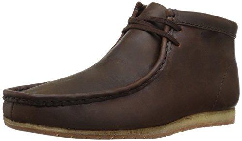 CLARKS Men's Wallabee Step Boot Chukka, Beeswax, 7 M ()