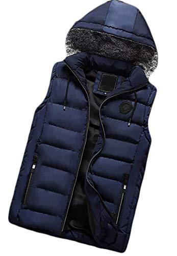 Kangqi Capuche 1 Avec Pour Manches Veste Amovible Vêtements De D'hiver Sans Hommes Sr8SRf