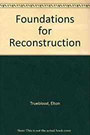 Foundations for reconstruction por Elton…
