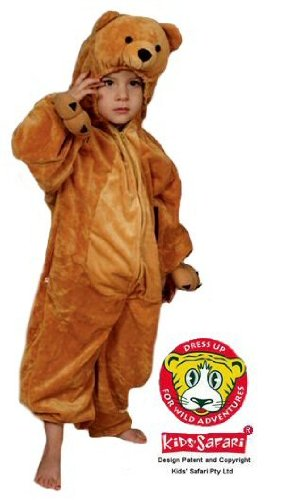 Safari Plush Costume Bear- Medium
