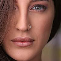 Silver Nose Ring - 18 G 925 Sterling silver Nose Rings hoop