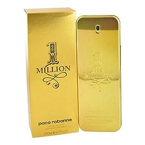 1 Million by Paco Rabanne Men's Eau De Toilette Spray 6.7 oz - 100% Authentic