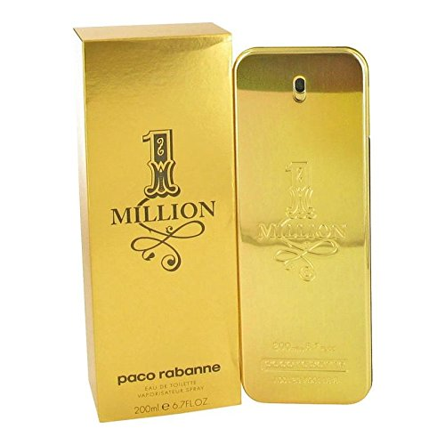 1 Million by Paco Rabanne Men's Eau De Toilette Spray 6.7 oz - 100% Authentic
