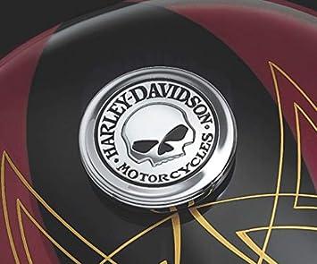 Medaillon Tankdeckel Harley davidson Softail dyna Sportster Road king Logo