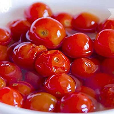 HOTUEEN 50Pcs Home Garden Balcony Organic Delicious Fruit Cherry Tomato Seeds Fruits : Garden & Outdoor