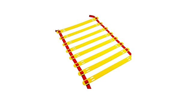 Kofferraum Escalera ágil, Espesado de Salto de cuadrícula Escalera, 8 Metros, 16 Nudos, Fútbol Formación Pace Escalera, Escalera Velocidad: Amazon.es: Hogar