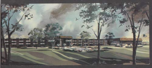 Holiday Inn & Resort Lake Geneva WI long postcard 1960s unused