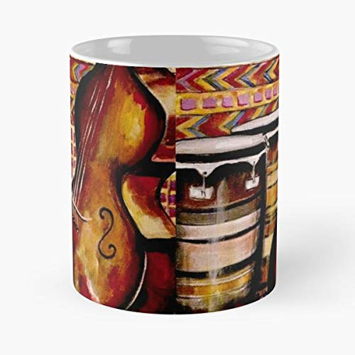 Bass Stand Up Conga Congas - Coffee Mug-11 Oz,white Unique Birthday Gift-the Best Gift For Holidays.