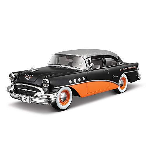 (Mini Diecast Vehicles Car Model Toy Vehicles,Century Classic Car Model Simulation Alloy Car Model Decoration ( Color : Black ) )