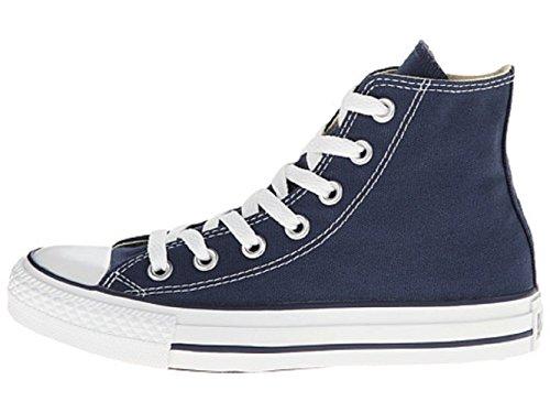 Converse Unisex Chuck Taylor All Star Hi Top Sneaker Shoes Navy Blue (3.5) (Navy, 14 B(M) US Women / 12 D(M) US Men)