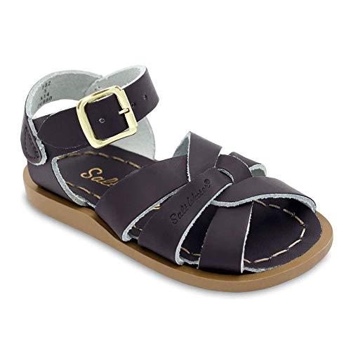 Salt Water Sandals by Hoy Shoe Original Sandal (Toddler/Little Kid/Big Kid/Women's), Brown, 7 M US Big - Cross Fishermans