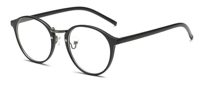 a0001a7b8d99d Flydo Retro Montura para Gafas de Vista Antiguas Visión Clara Glasses  Cristal Lente Transparente Hombre y Mujer  Amazon.es  Ropa y accesorios