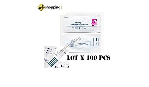 Lote de 1 a 100 Pruebas de Embarazo de hCG, mayor sensibilidad, mayor rapidez, gran calidad Vendedor profesional., 1