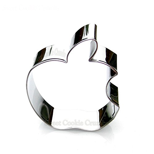 Bitten Apple Cookie Cutter- Stainless Steel]()