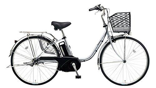 Panasonic(パナソニック) 2018年モデル ビビTX 26インチ BE-ELTX633 電動アシスト自転車 専用充電器付 B077M8KF5VS:モダンシルバー