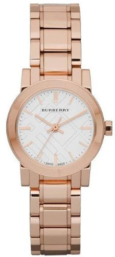 Burberry BU9204 27mm Gold Steel Bracelet & Case Mineral Women's Watch