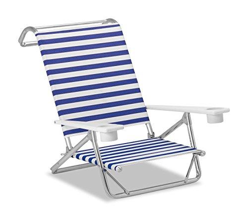 - Telescope Casual M54113602 Original Mini-Sun Chaise, Blue/White, 2 Pack