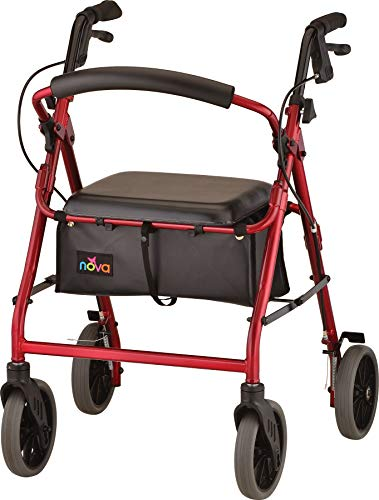 NOVA Zoom Rollator Walker with 22