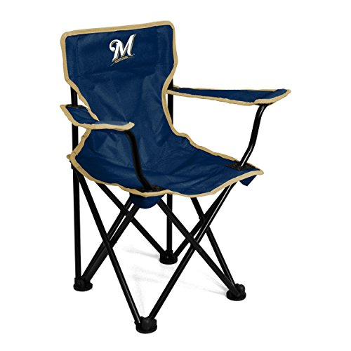 Logo Brands MLB Milwaukee Brewers Toddler Chair