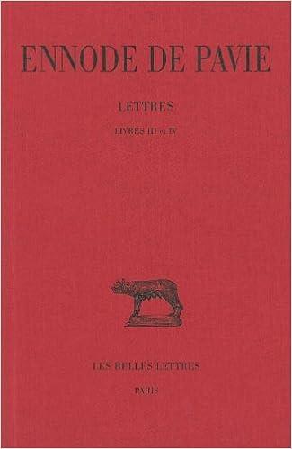 En ligne téléchargement Lettres. Livres III et IV pdf, epub ebook
