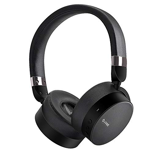 Active Noise Cancelling Bluetooth Headphones with Microphone,Over Ear Wireless Headphone Hi-Fi Deep Bass,Comfortable Protein Ear pads,90 Rotatable Stereo ANC Headset, 20H Playtime 24M Warranty