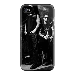 PhilHolmes Iphone 4/4s Perfect Hard Phone Case Unique Design HD Avenged Sevenfold Pictures [oVC8623gnrI]
