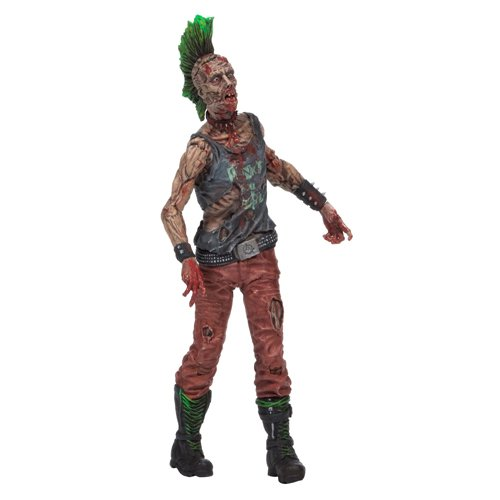 [McFarlane Toys The Walking Dead Comic Series 3 Punk Rock Zombie Figure] (Walking Zombie)