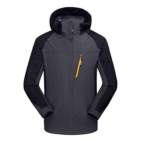 Amanti In Outdoor Hardshell Cappotto Pile grigio Pezzi Jacket Un cappotto Invernale Gli Caldo M Due Con Landfox Impermeabile Interno All'aperto Sportive Giacche Traspirante Abbigliamento XxfRP