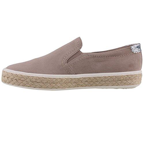 Tamaris Women's Loafer Flats Beige Beige (341 Taupe) lBmRI