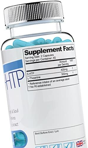 Forza Super 5-HTP 2 Bottles - 180 Capsules