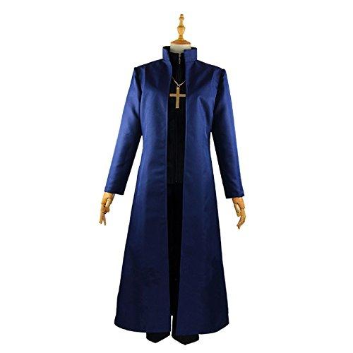 【ミドリ屋】神父 言峰綺礼 ことみねきれい 魔術礼装 制服 コスプレ 衣装 男性LL
