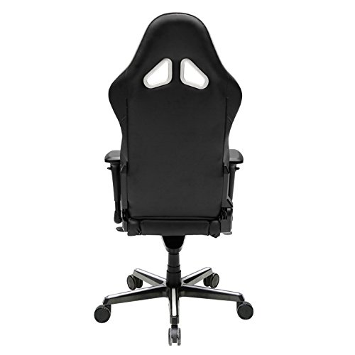 41iuBlRCKqL - DXRacer OH/RV001/NW Racing Series Black and White Gaming Chair - Includes 2 free cushions