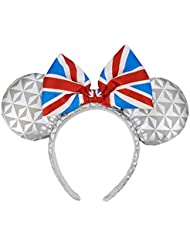 Disney Parks - Minnie Ears Headband - Epcot United Kingdom Flag