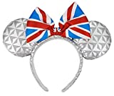 WDW Parks - Minnie Ears Headband - Epcot United Kingdom Flag