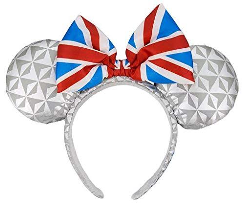 Disney Parks - Minnie Ears Headband - Epcot United Kingdom Flag