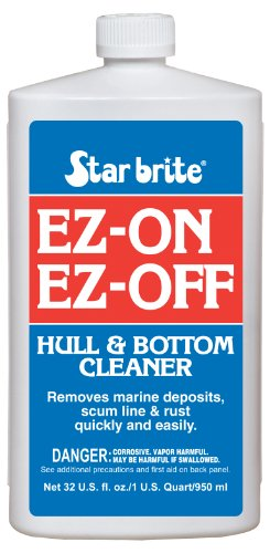 Star brite E-Z On E-Z Off Boat Bottom Hull Cleaner, 32 oz