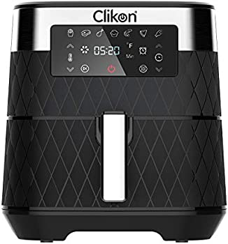 Clikon 5.8 Liter Digital Touch Screen Air Fryer