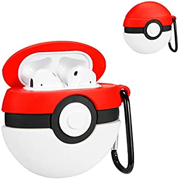 Amazon.com: Logee Pikachu Case for Apple Airpods 1&2,Cute