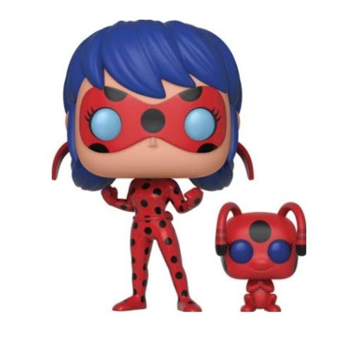 Funko POP Miraculous Ladybug with Tikki Collectible Figure and Buddy Multicolor 28637 Accessory Consumer Accessories