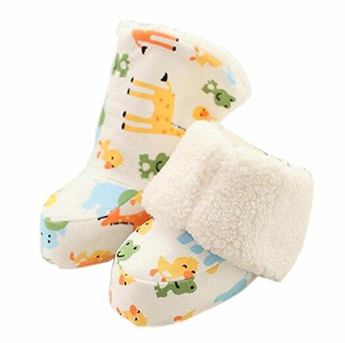 Baby Zuerst Walkers weiche Sohle Baumwolle Kleinkind -Schuhe Zoo