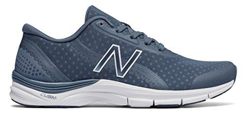 滑る天井慢な(ニューバランス) New Balance 靴?シューズ レディーストレーニング 711v3 Mesh Trainer Vintage Indigo with White インディゴ ホワイト US 10 (27cm)