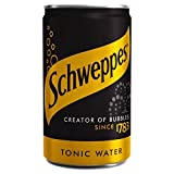 tonic water cans - Schweppes Indian Tonic Water Mini Can - 150ml (5.07fl oz)