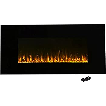 Electric Fireplace Wall Mounted, LED Fire and Ice Flame, With Remote 42 inch by Northwest