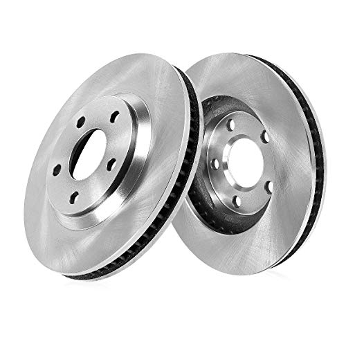 CRK12697 FRONT Premium Grade OE 324 mm [2] Rotors Set [ fit BMW E38 E39 540 740 850 Series ]