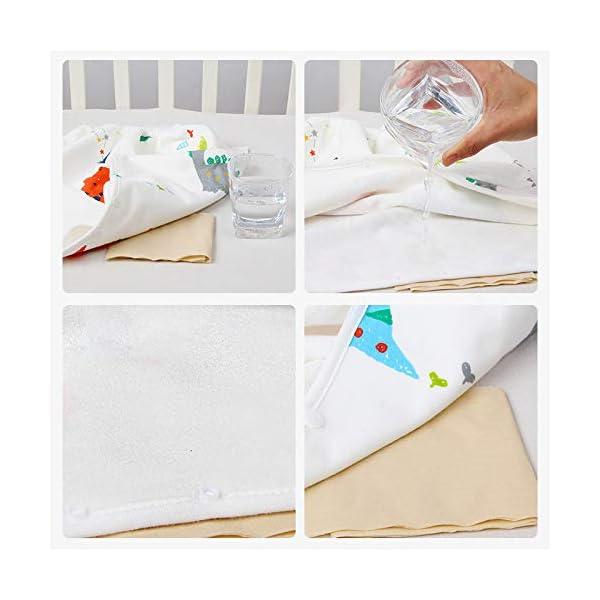 Teekit Comfy Childrens Diaper Skirt - Pantaloncini impermeabili e assorbenti per bambini 6